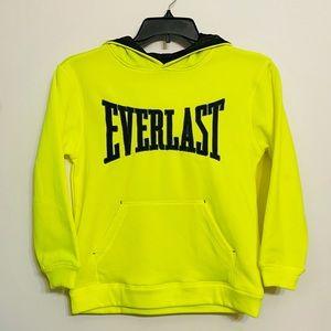 Everlast Neon Yellow Pullover Hoodie